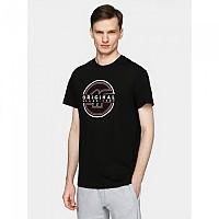 [해외]4F Short Sleeve T-Shirt Deep Black