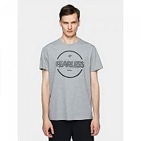 [해외]4F Short Sleeve T-Shirt Grey Melange