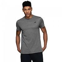 [해외]4F Short Sleeve T-Shirt Middle Grey Melange