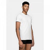 [해외]4F Short Sleeve T-Shirt White / White
