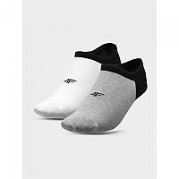 [해외]4F Socks White / Grey Melange