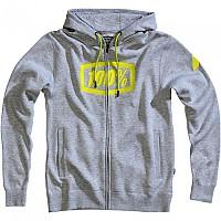 [해외]100% Syndicate Full Zip Sweatshirt Heather Grey