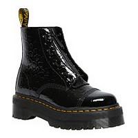 [해외]닥터마틴 Sinclair Patent Lamper Leopard Emboss Boots Black