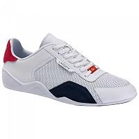 [해외]라코스테 Hapona Leather Synthetic Trainers Refurbished White / Navy / Red