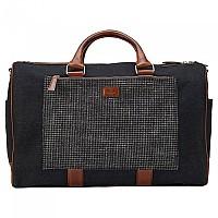 [해외]HACKETT Brush Off Carry On Bag Grey / Brown