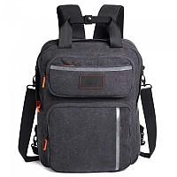 [해외]무니치 Patch Messenger Backpack Dark Grey