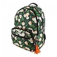 [해외]JESSICA NIELSEN Flowers Backpack Green / Cream