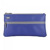 [해외]MILAN Pencil Case 2 Zippers Blue