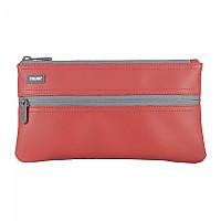 [해외]MILAN Pencil Case 2 Zippers Red