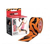 [해외]ROCK TAPE Standard 5cmx5m Kinesiology Tape 3138294956 Tigre Orange / Black