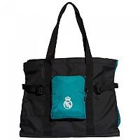 [해외]아디다스 Real Madrid Tote Bag 3138102691 Black / Blast Emerald