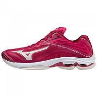 [해외]미즈노 Wave Lightning Z6 Shoes 3138140641 Persian Red / White Sand / Red