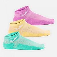 [해외]조마 Short Socks 3 Pairs 3138270645 Yellow / Purple / Green