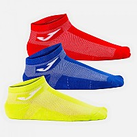 [해외]조마 Short Socks 3 Pairs 3138270647 Yellow / Royal / Red