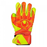 [해외]울스포츠 Dynamic Impulse Absolutgrip Finger Surround Goalkeeper Gloves Refurbished 3138368629 Dynamic Orange / Fluo Yellow
