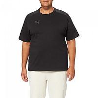 [해외]푸마 Teamcup Casuals Short Sleeve T-Shirt 3138158956 Puma Black / Asphalt