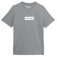 [해외]헐리 One&Only Small Box Short Sleeve T-Shirt 15137493654 Smoke Grey