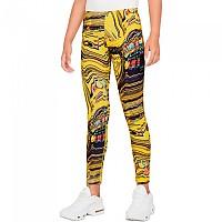 [해외]나이키 Sportswear Aop Tight 15138253911 Yellow Strike / Black