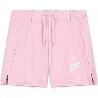 [해외]나이키 Sportswear Club French Terry 5´´ Shorts 15138253967 Pink Foam / White