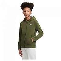 [해외]나이키 Sportswear Club French Terry Full Zip Sweatshirt 15138253977 Rough Green / White