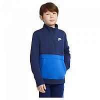 [해외]나이키 Sportswear Club Long Sleeve T-Shirt 15138253998 Midnight Navy / Game Royal / White