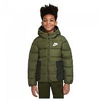 [해외]나이키 Sportswear Down-Fill Jacket 15138254036 Rough Green / Sequoia / White