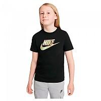[해외]나이키 Sportswear Short Sleeve T-Shirt 15138254271 Black / Black / White / White