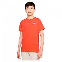 [해외]나이키 Sportswear Short Sleeve T-Shirt 15138254307 Orange