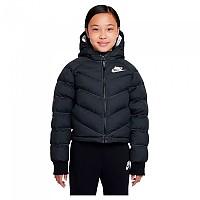 [해외]나이키 Sportswear Synthetic Fill Jacket 15138254403 Black / White / White