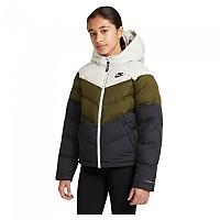 [해외]나이키 Sportswear Synthetic-Fill Jacket 15138254408 Light Bone / Rough Green / Black / Black