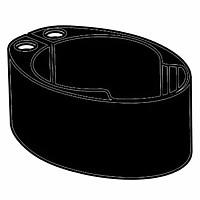 [해외]DEDA 20 mm Spacer For Handlebar Vinci 1138224268 Black