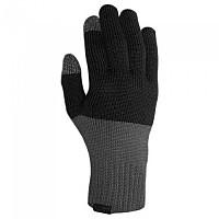 [해외]지로 Merino Knit Wool Long Gloves 1138267622 Grey / Black