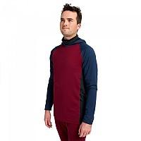 [해외]버튼 Midweight X High Neck Long Sleeve Base Layer 1138272526 Dress Blue / Mulled Berry