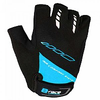 [해외]B-RACE Bump Gel Short Gloves 1138276491 Black / Blue