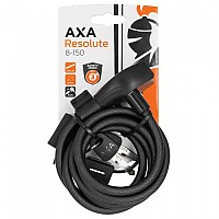 [해외]AXA Resolute 8 mm Cable Lock 1138317498 Black