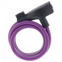 [해외]AXA Resolute 8 mm Cable Lock 1138317502 Purple