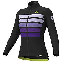 [해외]ALE Sombra Wool Long Sleeve Jersey 1138326848 Black / Purple