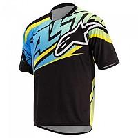 [해외]알파인스타 Sight Short Sleeve T-Shirt 1138338538 Black / Blue / Yellow