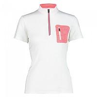 [해외]CMP Free Bike Short Sleeve Jersey 1138353459 White / Gloss