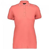 [해외]CMP Short Sleeve Polo 4138352188 Flamingo