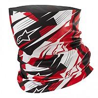 [해외]알파인스타 Blurred Neck Warmer 4136867728 Black White Red