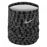 [해외]나이키 ACCESSORIES Therma Fit Wrap Printed Neck Warmer 4138159654 Black / Grey / Silver