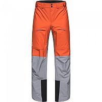 [해외]하그로프스 Vassi Touring Goretex Pants 4138160378 Flame Orange / Concrete