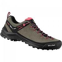 [해외]살레와 Wildfire Leather Hiking Shoes 4138183610 Bungee Cord / Black