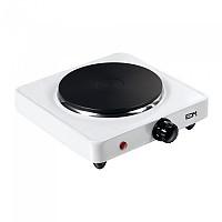 [해외]EDM 1000W Electric Kitchen 1 Stove 4138364365 Black / White
