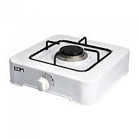 [해외]EDM Gas Cooker 1 Stove 4138364415 White / Black