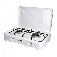[해외]EDM Gas Cooker 2 Stoves 4138364416 White / Black