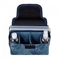 [해외]DOMO PACK LIVING Stay Ok Jungle Covid Toiletry Bag 4138354373 Blue
