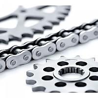 [해외]AFAM 520 Chain Kit Kawasaki KLR 650 Tengai 89-92 9137770836 Silver