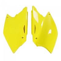 [해외]UFO Side Covers Suzuki RM-Z 250 04-06 9138364775 Fluor Yellow